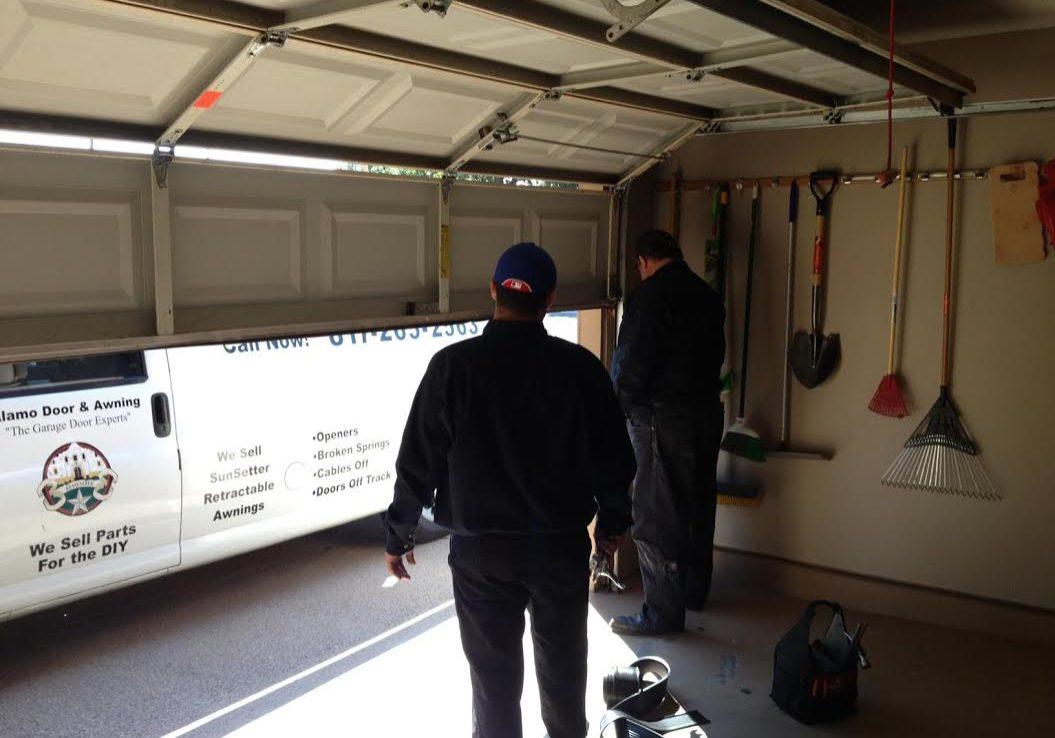 and sectional garage worth overhead ft installation dallas type repair door